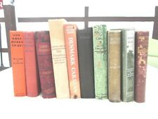 LOT OF 10 VINTAGE NOVELS, FIRST EDITION & SIGNED