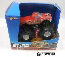 Hot Wheels  MONSTER JAM  Rev Treads  GUNSLINGER  New In Box!! 1:43 scale