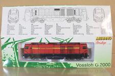 Mehano 8812db Neusser Eisenbahn NE Vossloh Mak G 2000 Diesel loco MiB NL