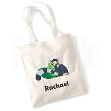 Personalised 'Racoon' Canvas Tote Bag
