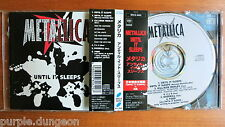 Metallica – Until It Sleeps Giappone CD Sony SRCS 8062 + OBI