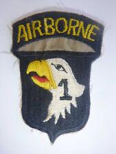 101st AIRBORNE - HQ & HQ COMPANY - Vietnam War Patch - SCREAMING EAGLES - 9923