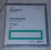 1x HP ENTERPRISE LTO-5 ULTRIUM RW 3TB DATA CARTRIDGE C7975A GENUINE NEW