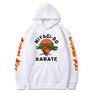 Cobra Kai Hoodie - Karate Kid Snake Kobra No Mercy Retro 80s Martial Arts Costum