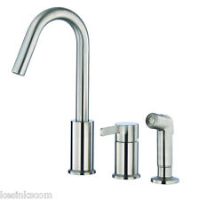 Danze D409030 Stainless Steel Kitchen Faucet - Includes Side Spray