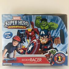 Marvel Super Hero Scoot Racer Zoom & Spin Caster Board Ride-On Kids 18 Months +