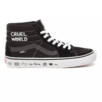 VANS SK8 HI BRICOLAGE EMBROIDERED PALM CLASSIC SNEAKERS SCARPE UOMO VN0A45K3VM41