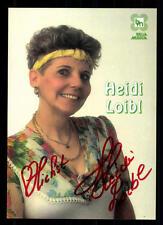 Heidi Loibl Autogrammkarte Original Signiert ## BC 42762