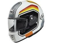 Casque moto intégral ARAI Concept-X Number White NEW 2021