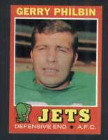 1971 Topps #98 Gerry Philbin NM/NM+ NY Jets 66165