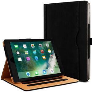 Étui Housse de Protection Support Noir pour Apple iPad Air 1 / Air 2 (9.7 Pouces