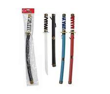 """Espada Katana Samurai Ninja de plástico de 24"""" Niños Childrens juego de roles elaborado Vestido Juguete"""