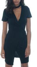 Vestiti da donna a manica corta nero taglia 38