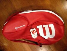 Wilson Vaccouver Countervai 15 Pack Tennis Racquet Bag -Red-Wrz840715-Brand New!