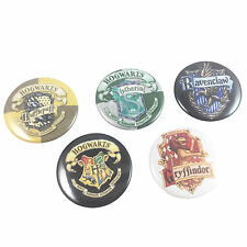 Harry Potter School House Crest Logo Badge Set - Buttons Hogwarts Party Favors