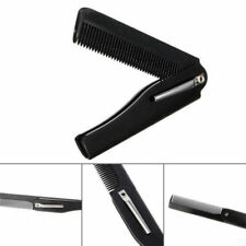 Mini Mens Womens Beauty Handmade Folding Pocket Clip Hair Moustache Beard Comb