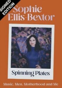 SOPHIE ELLIS BEXTOR AUTHENTIC SIGNED SPINNING PLATES BOOK AFTAL#198