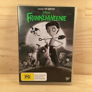 Walt Disney FRANKENWEENIE Kids Adventure DVD Movie Film (R4) Tim Burton 2013