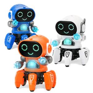robot Tobbie The Robot dance music robots Octopus Spider Birthday Gift kid Toy