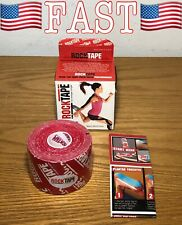 ROCKTAPE Rock Tape RED LOGO BULK Therapeutic Kinesiology Sports Injuries Rehab