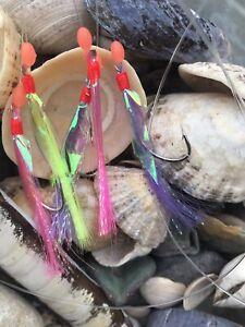 Dega Sardinen-Meeres-Paternoster Size 5//0 Mackerel Rig COD Leader Mackerel