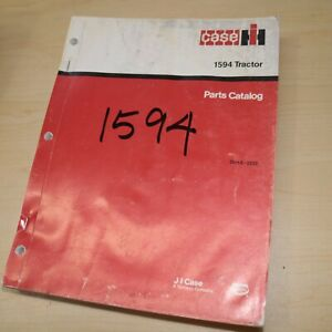 CASE IH INTERNATIONAL 1594 Tractor Parts Manual Book spare catalog farm list