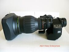 Super rare Fujinon HA22x7.3BRD-P12 Precision Focus HD lens for HDCAM/XDCAM/HPX