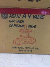 Asahi AV Diaphragm Valve 3/4