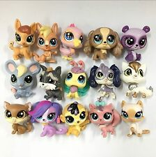 "15pcs Random pick HASBRO Littlest Pet Shop LPS FIGURES 2"" Loose kids toys HA366"
