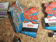 Londres Jeux Olympiques 2012: SPORTS venue PIN: BMX honav 1866