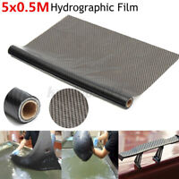 0.5 x 5M Carbon Texture Water Transfer Hydrodipping Film Fiber Hydro Dip Print