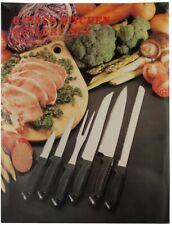 Kitchen Cutlery Knife Set 6 Piece Stainless Steel Knives Chef Steak Blade Cookin