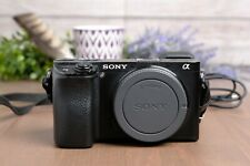 Sony Alpha a6300 Mirrorless 4K Camera Body with Strap, Batteries & Charger