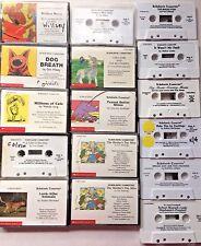 Audio Books Children Scholastic Cassette Tapes Stories Lot of 16 Teachers