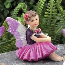 Miniature  Tiny Fairy  Rosie  GO 17416  Fairy Garden Dollhouse Terrarium