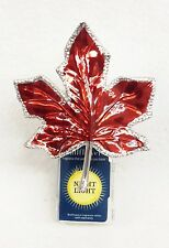 Bath & Body Works Wallflower RED LEAF NIGHTLIGHT Unit PlugIn Diffuser Warmer