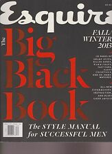 ESQUIRE MAGAZINE THE BIG BLACK BOOK FALL/WINTER 2013.