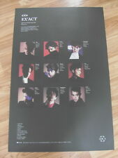 EXO - EX'ACT (BLACK VERSION) [ORIGINAL POSTER] K-POP *NEW* LUCKY ONE / MONSTER