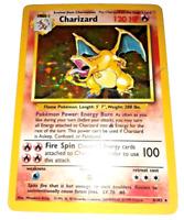 Pokemon Card - Charizard - (4/102) Base Set Rare Holo ***EXC***