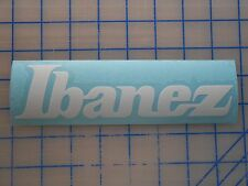 "Ibanez Decal Sticker 5.5"" 7.5"" 11"" Gio Bass Artcore Guitar Amp Tube Strings Jem"