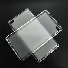 Para Tablet Lenovo Tab 3 4 7 8 10 E7 E8 M10 a prueba de choques Suave TPU con Cubierta Delgada