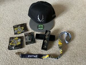 NEW ZOTAC GAMING Merchandise-cap,magnets,lanyards,pin Badges In Presentation Box