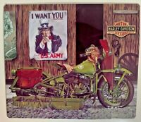 Ande Rooney HARLEY DAVIDSON FREEDOM RIDERS Motorcycle US Army Garage Sign