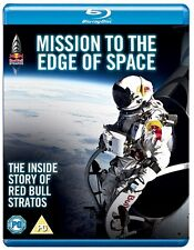 MISSION TO THE EDGE OF SPACE BLU RAY NEW FELIX BAUMGARTNER FREE-FALL JUMP