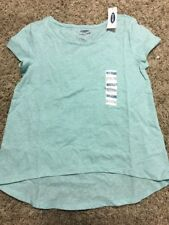NWT Old Navy Girls Hi-Lo T-Shirt Size Small ~Color Sea Green ~ Free Shipping!!