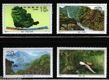 Dinghu Mountain set of 4 mnh stamps China 1995-3 Dinghushan birds