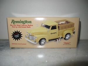 "REMINGTON DIE-CAST METAL COLLECTOR REPLICA ""POINTER"" TRUCK BANK F832"