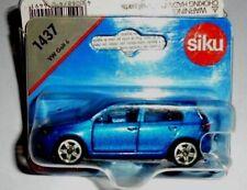 x) 1/55 SIKU 1437 VOLKSWAGEN GOLF Mk6 MET BLUE NEW BLISTER