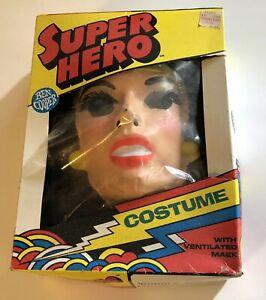 Wonder Woman Vintage Halloween Costume In Box Ben Cooper