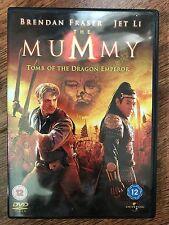 Brendan Fraser Jet Li THE MUMMY: TOMB OF THE DRAGON EMPEROR ~ 2008 Part 3 UK DVD